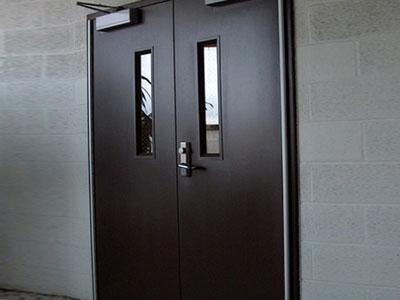 Commercial Pedestrian Door Hollow Metal Door Systems
