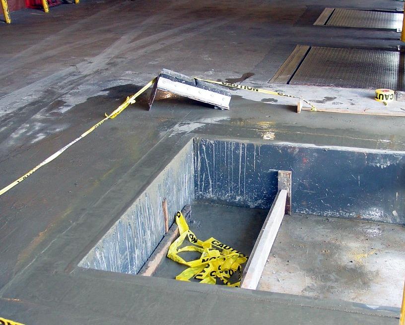 Concrete Construction And Repair Dock And Door Openings