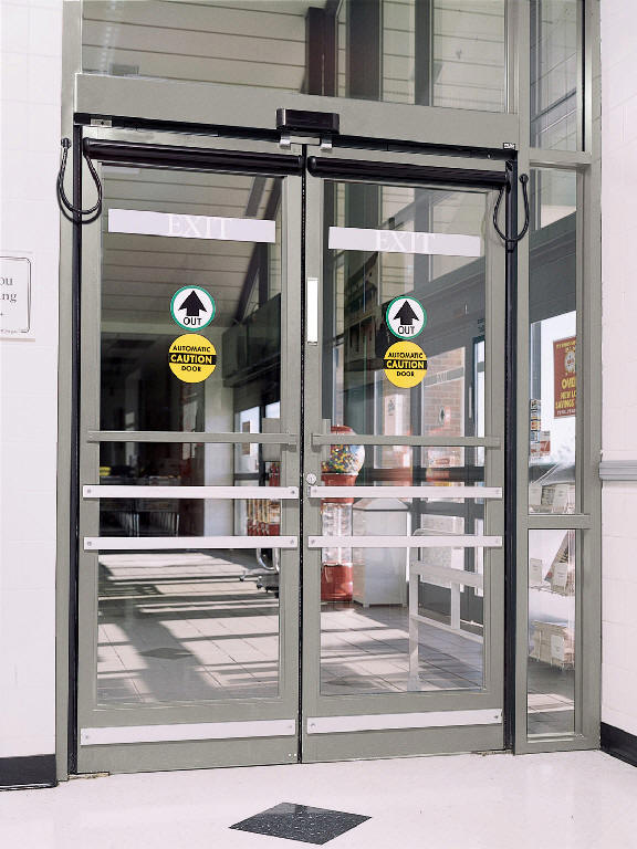 Automatic Fire Doors : Mechanical doors locks for sliding patio