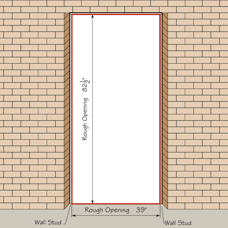 exterior door height from floor. rough_opening_hm_faq exterior door height from floor a